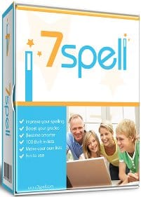 cover image of 7Spell spelling software