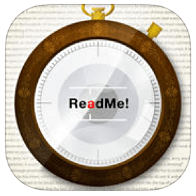 ReadMe! is an eBook reader app for iOS and Android with integrated Spritz technology and eBook library to effectively process digital content. Read our review.