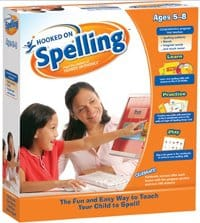 Hooked on Spelling is specifically made for children of ages 5 to 8.