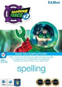 Spelling Force V2 is an award-winning software by EdAlive