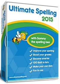 Ultimate Spelling for children and adults tackles bad spelling habits.