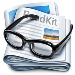 With ReadKit you can read and bookmark articles to have them all in one place. An RSS read it later app for Mac computers.