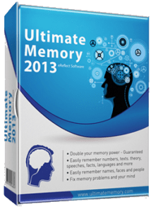 Ultimate Memory software is about teaching strategies and techniques to memory things easily.