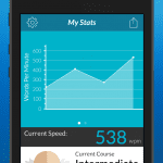image of Acceleread Trainer App - Statistics