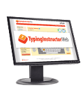 small logo image of typing instructor web
