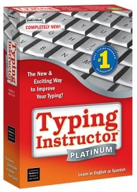 image of typing instructor platinum