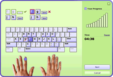image of typing master 10 tutor