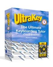image of ultrakey 6 typing tutor
