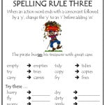 Spelling Rules Tips - Rule 3