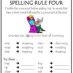 Spelling Rules Tips - Rule 4