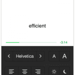 image of Syllable App Settings