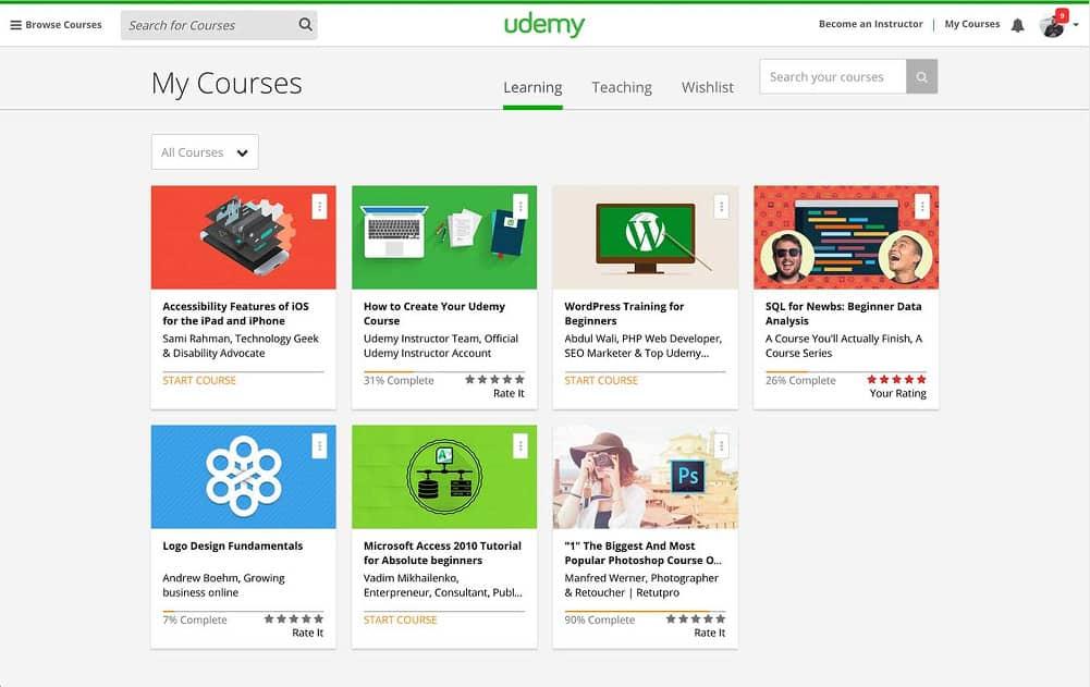 udemy courses reviews