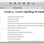 7Spell Screenshots - Worksheets