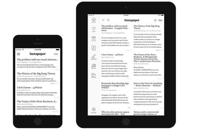 image of instapaper_ios