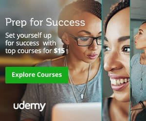 enroll in a course using a udemy  coupon code