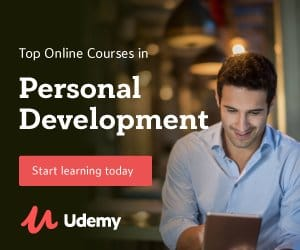 personal development - udemy courses