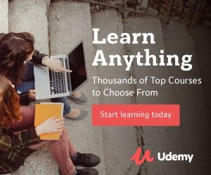 image of udemy course offers